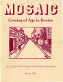 Mosaic: Coming of Age in Boston, 1983 Spring